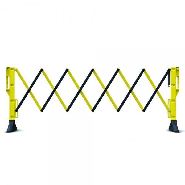 Drošības norobežojošā barjera dzeltena 2