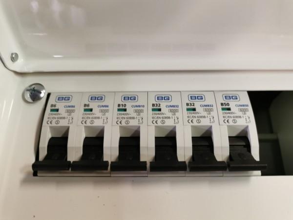 Zemapmetuma elektroinstalācijas kārba 100A 2