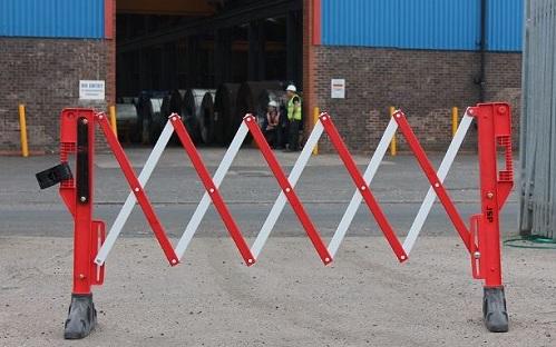 Drošības norobežojošā barjera sarkana 1