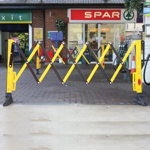 Drošības norobežojošā barjera dzeltena 1