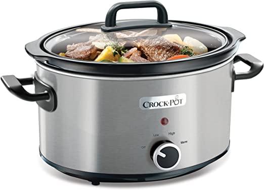 Crock Pot Traditional Slow Cooker 3.5L lēnvāres katls 2