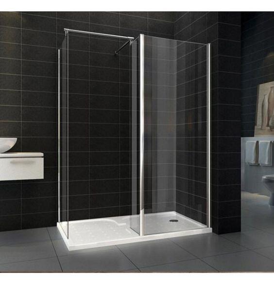 WALK dušas stikls 1400x900x1950 WAL39391 2