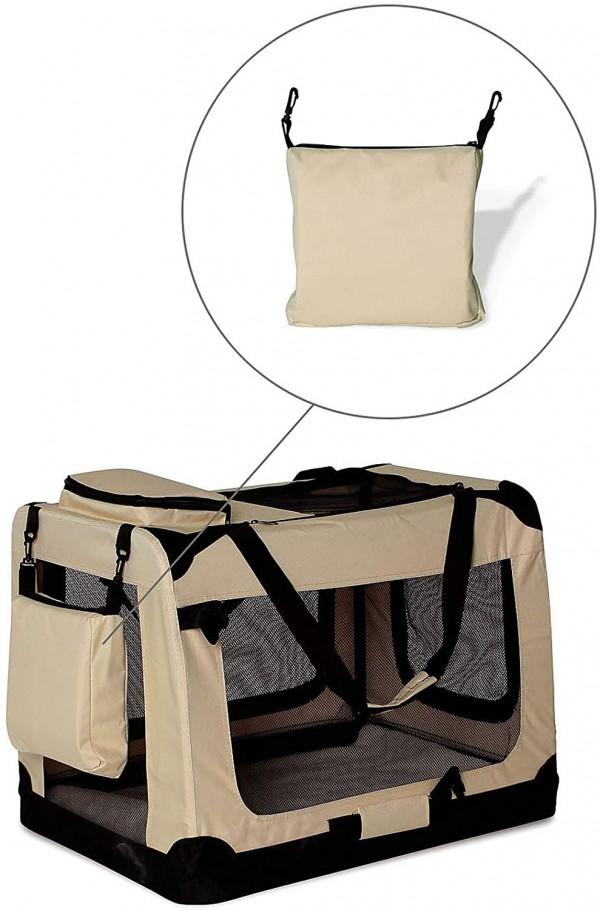 DIBEA TB10044 XXL dzīvnieku transportēšanas soma 3