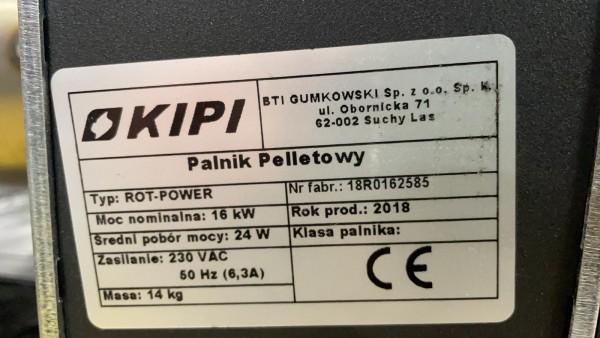 KIPI ROT-POWER 16kw paštīrošais granulu deglis 5