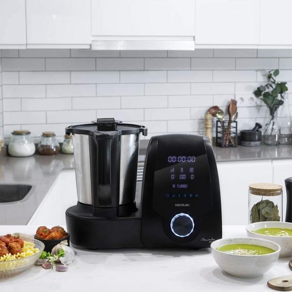 Cecotec Robot Mambo 9090 negro (04132) virtuves kombains 7