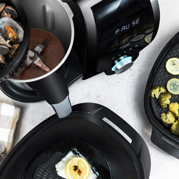 Cecotec Robot Mambo 9090 negro (04132) virtuves kombains 4