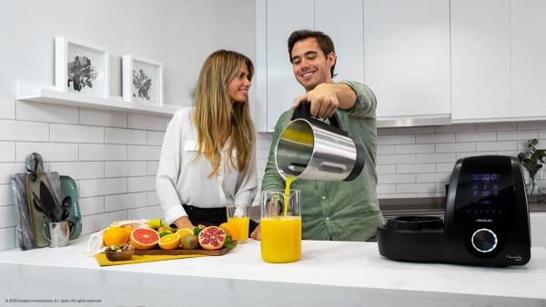 Cecotec Robot Mambo 9090 negro (04132) virtuves kombains 2