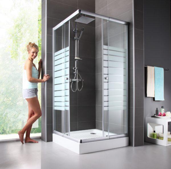 WELLTIME TRENTO dušas stūris 90x90x180 1