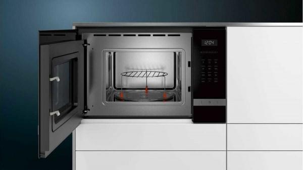Siemens BE525LMS0 Iq500 iebūvējama mikroviļnu krāsns 3
