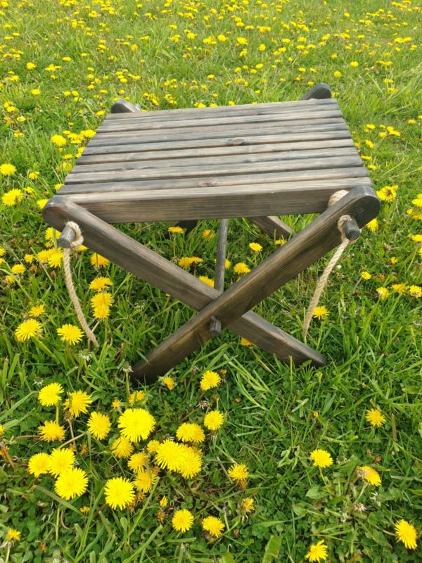 Salokāms dārza galds 1