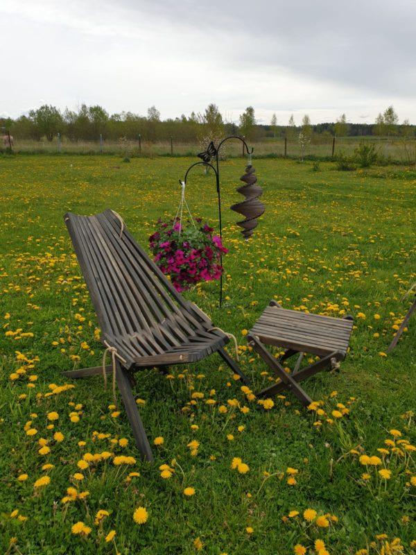 Salokāms dārza krēsls 2