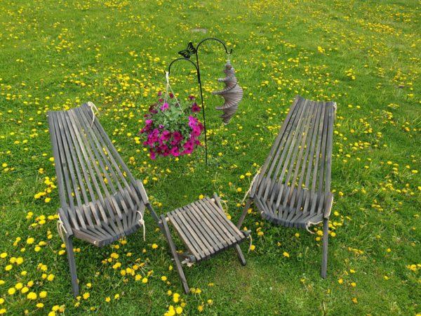 Salokāms dārza krēsls 1