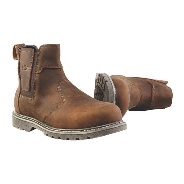 SITE Mudguard ādas darba apavi 41.izmērs 1