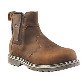SITE Mudguard ādas darba apavi 41.izmērs 2