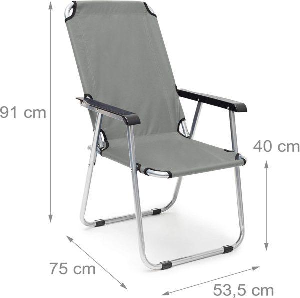 RELAXDAYS kempinga krēsls 2
