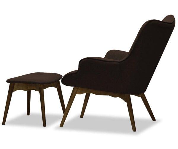 DUCON ONTARIO atpūtas krēsls ar kāju balstu 2
