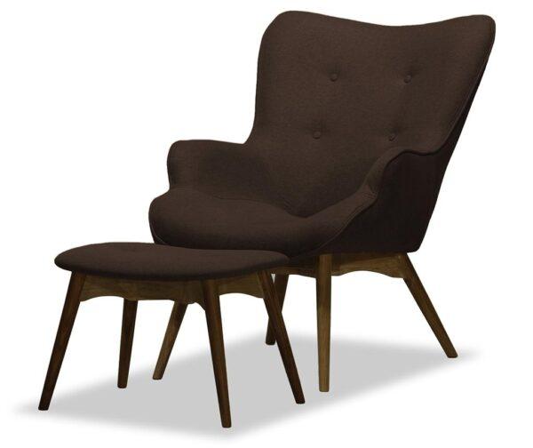 DUCON ONTARIO atpūtas krēsls ar kāju balstu 1