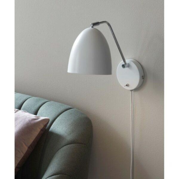 Nordlux ALEXANDER white, 1-light source sienas lampa 2