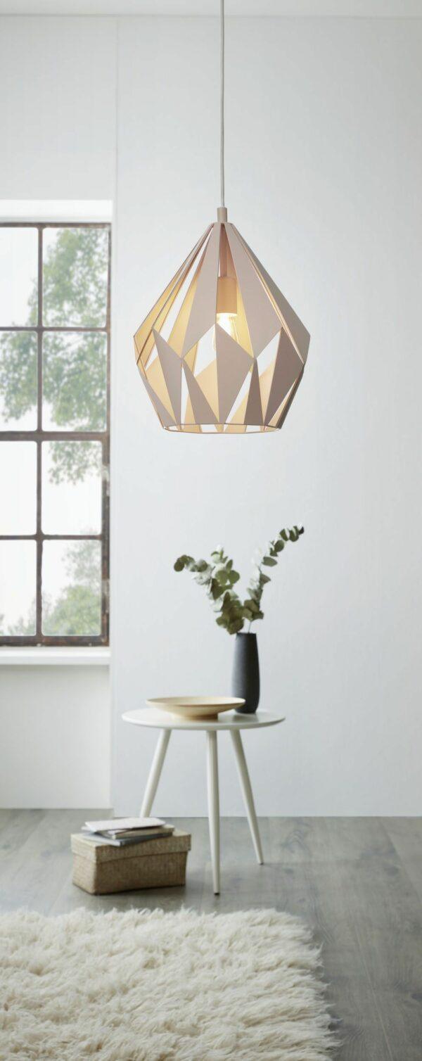 CARLTON-P griestu lampa 49024 (rozā) 2