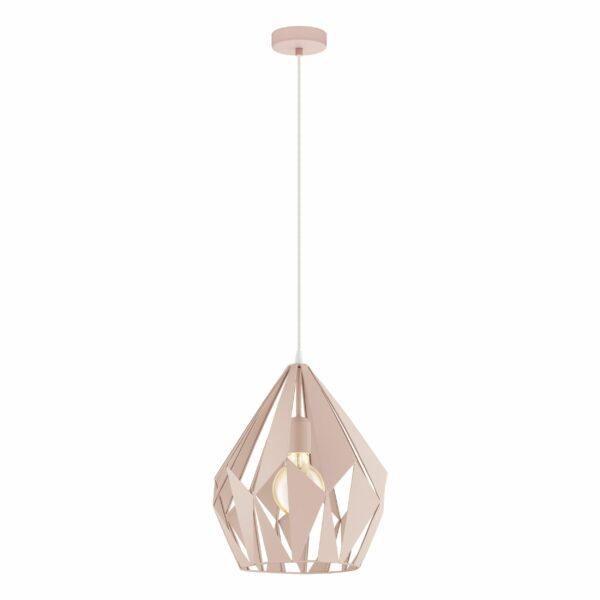 CARLTON-P griestu lampa 49024 (rozā) 1
