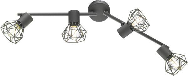 Ran E14, grau, Fischer & Honsel griestu lampa 1