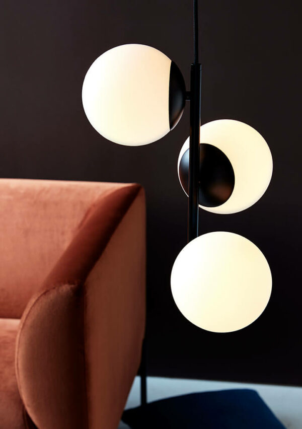 Nordlux Lilly opal white griestu lampa 3