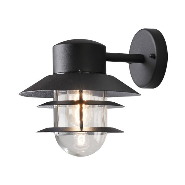 Modena sienas lampa Matt Black 7310-750 3