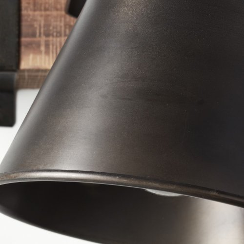 Brilliant Plow sienas lampa Black 3