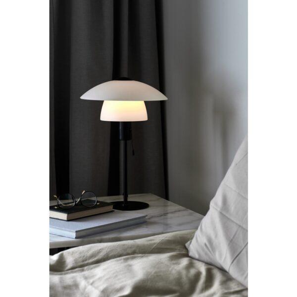 Nordlux Verona Tischleuchte Opalweiß galda lampa 2