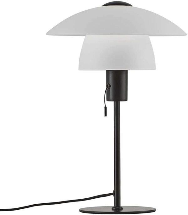 Nordlux Verona Tischleuchte Opalweiß galda lampa 1