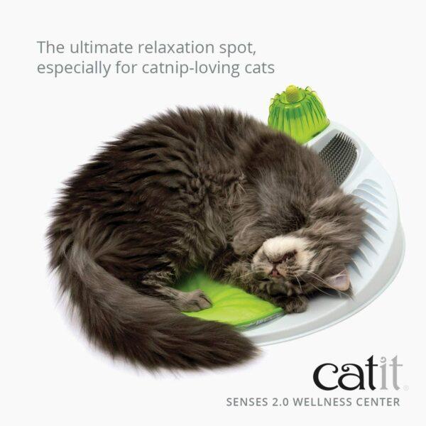 Catit Senses 2.0 kaķu masāžas centrs B00D3NI4EU 3