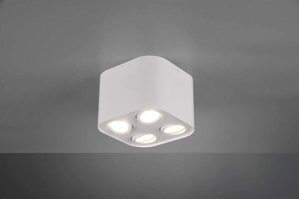 Trio Leuchten COOKIE white griestu lampa 612900431 2