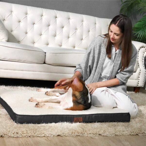 Bedsure Extra Large suņu gulta B07ZGMZPW9 4
