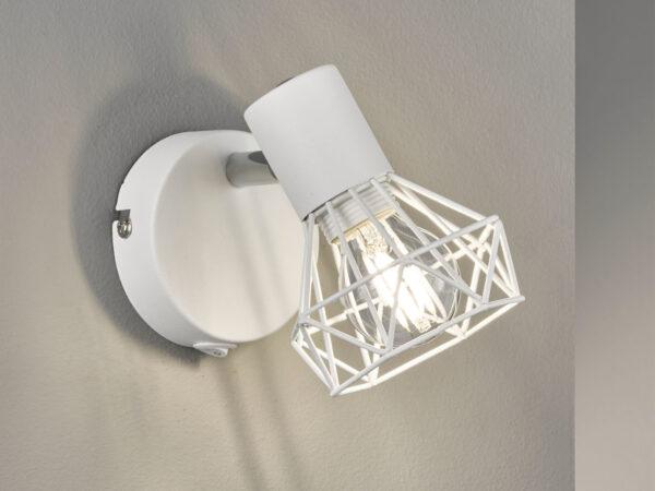HONSEL sienas lampa white metal 4001133301435 2