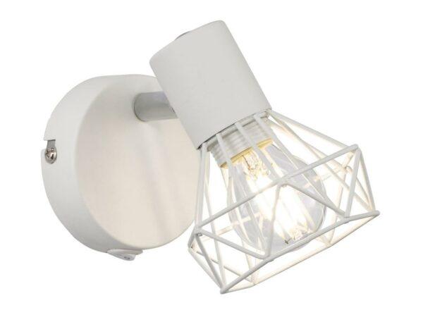 HONSEL sienas lampa white metal 4001133301435 1