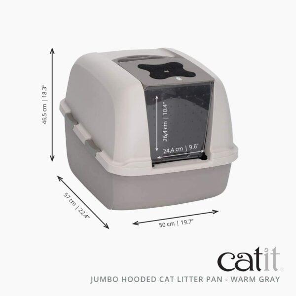 Catit Jumbo kaķu nokārtošanās kaste B003RQVGKC 2