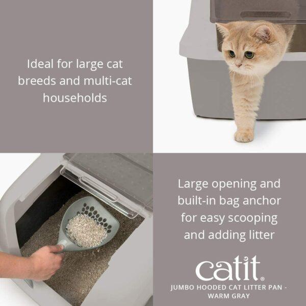 Catit Jumbo kaķu nokārtošanās kaste B003RQVGKC 3