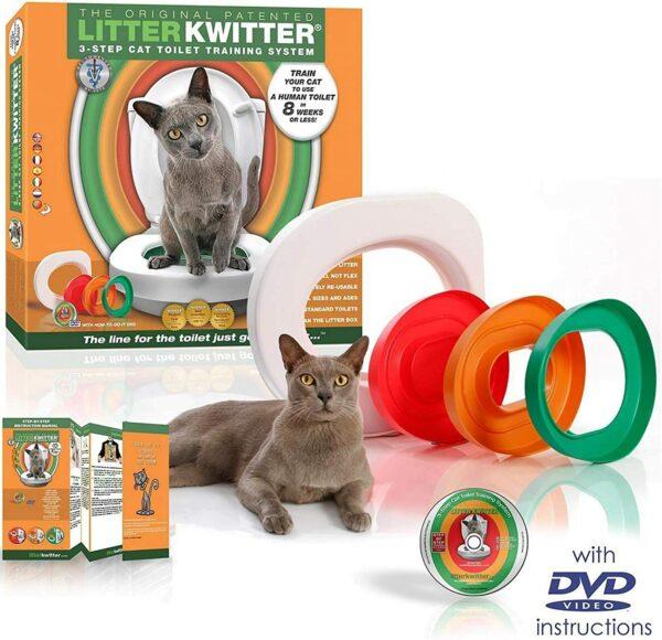 Litter Kwitter kaķu nokārtošanās sistēma 2