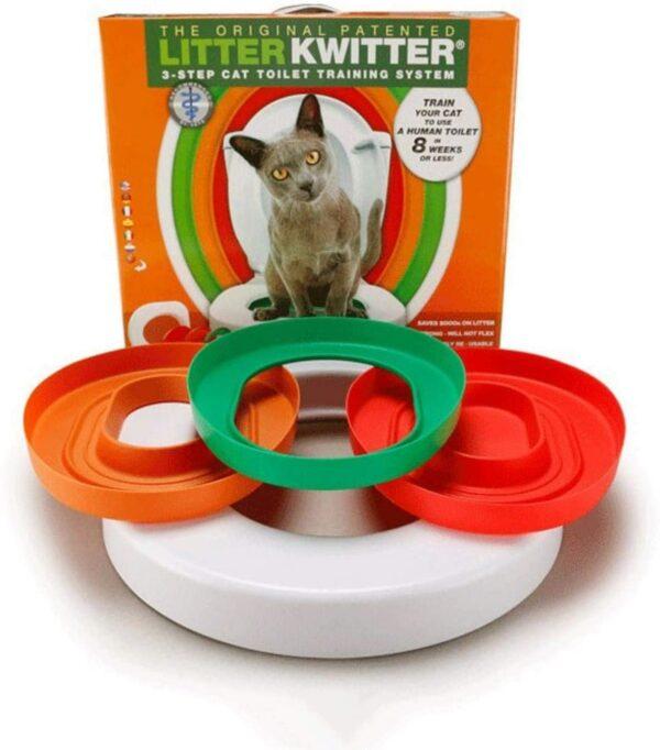 Litter Kwitter kaķu nokārtošanās sistēma 1