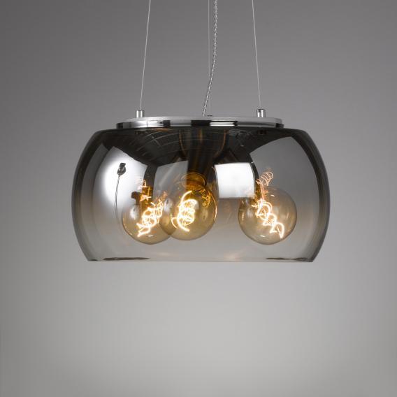 FISCHER & HONSEL Brad pendant light, 3 heads griestu lampa 4