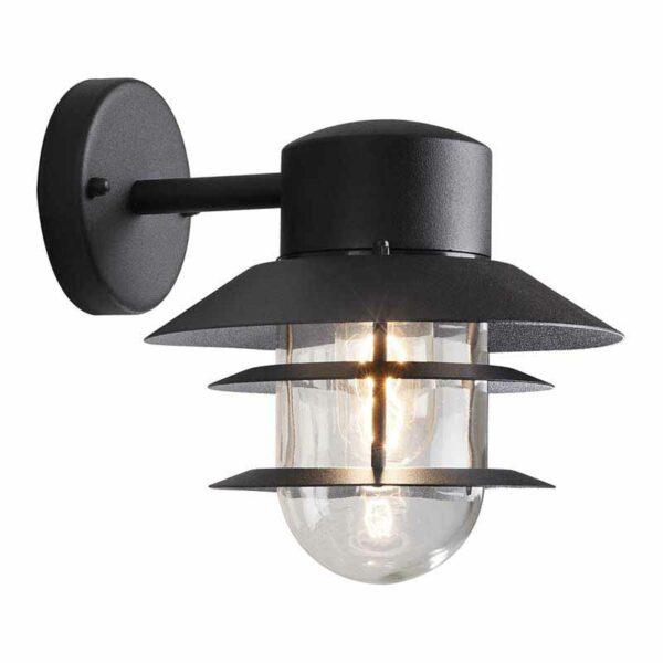 Modena sienas lampa Matt Black 7310-750 1