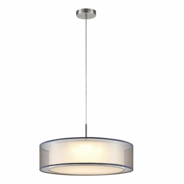Nickel Mooney 3-Light LED griestu lampa 1