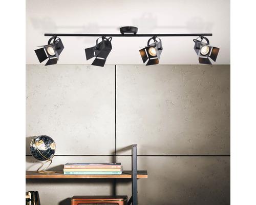 Brilliant Movie LED black, 4-light sources griestu lampa 3