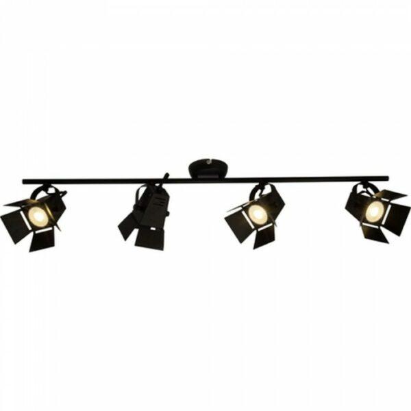 Brilliant Movie LED black, 4-light sources griestu lampa 1