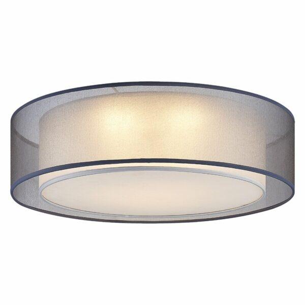 Nickel Mooney 3-Light LED griestu lampa 2