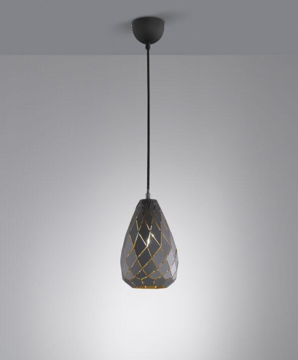 Trio Onyx griestu lampa 301300142 2