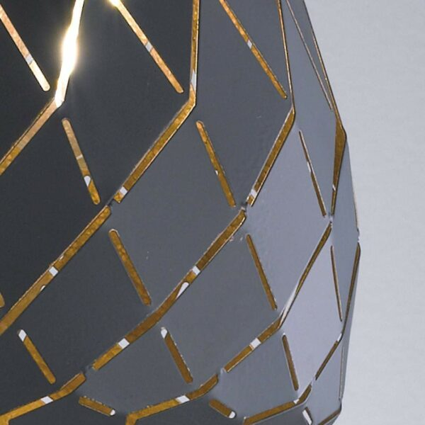 Trio Onyx griestu lampa 301300142 3