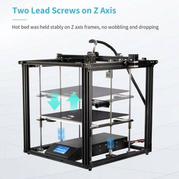 Creality Ender 5 Plus 3D printeris 4