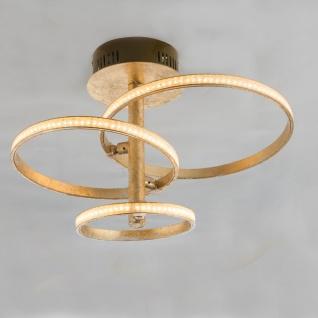 light ring living room Globo 67822-24G griestu lampa 3