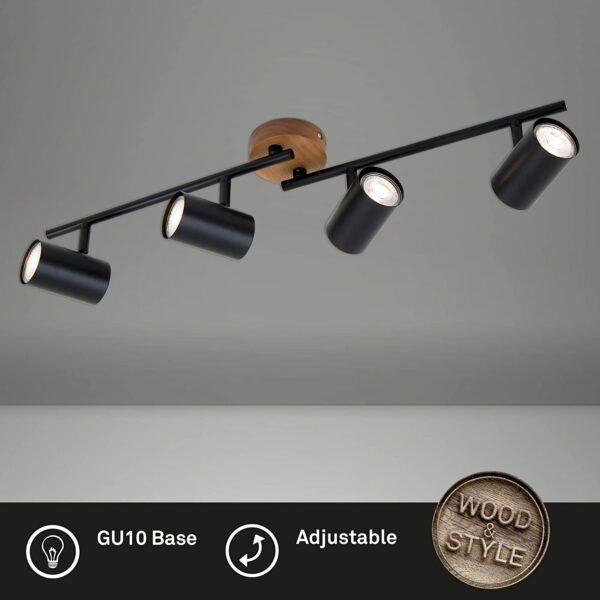 Briloner Leuchten 2920-045 Retro, Vintage griestu lampa 3